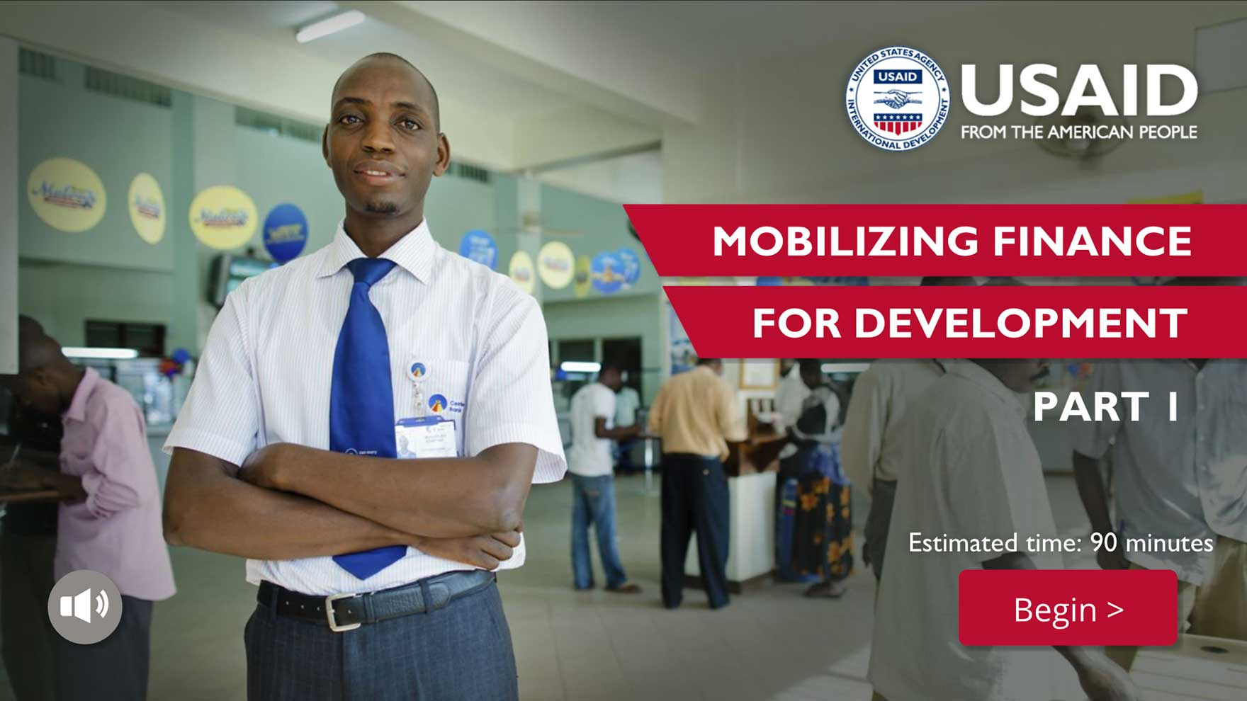 Private Sector Engagement training on mobilizing finance for development